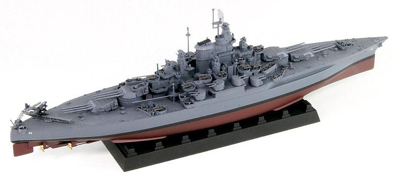 米国海軍 テネシー級戦艦 BB-44 カリフォルニア 1945プラモデル(ピットロード1/700 スカイウェーブ W シリーズNo.W191)商品画像_3