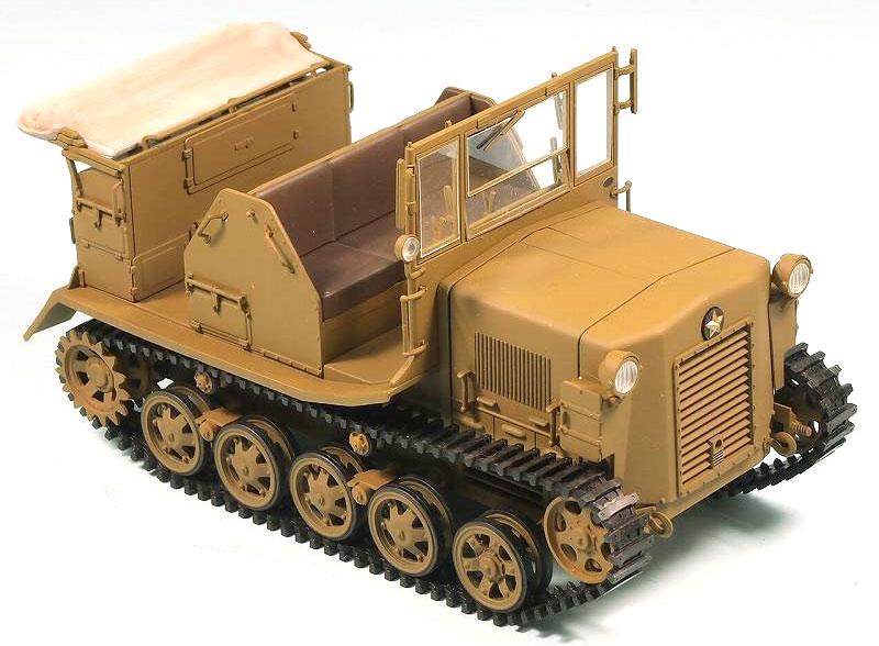 日本陸軍 九八式 4屯牽引車 シケプラモデル(ピットロード1/35 グランドアーマーシリーズNo.G042)商品画像_2