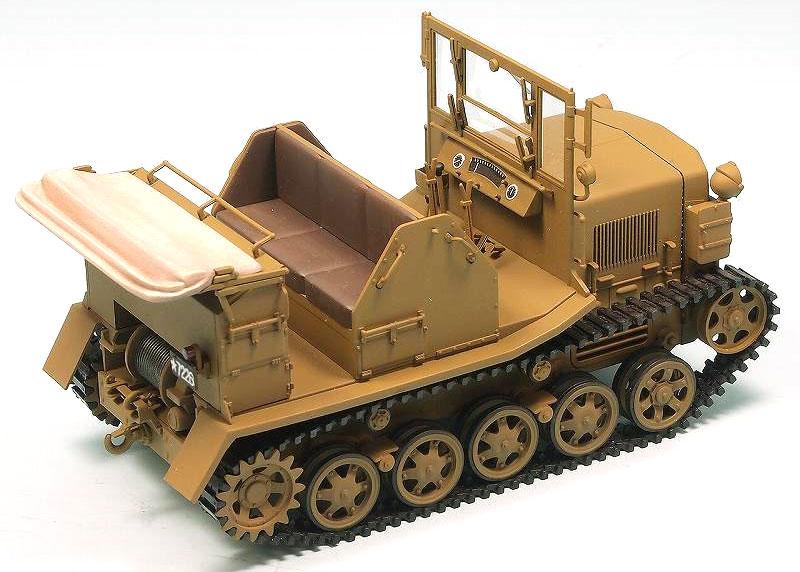 日本陸軍 九八式 4屯牽引車 シケプラモデル(ピットロード1/35 グランドアーマーシリーズNo.G042)商品画像_3