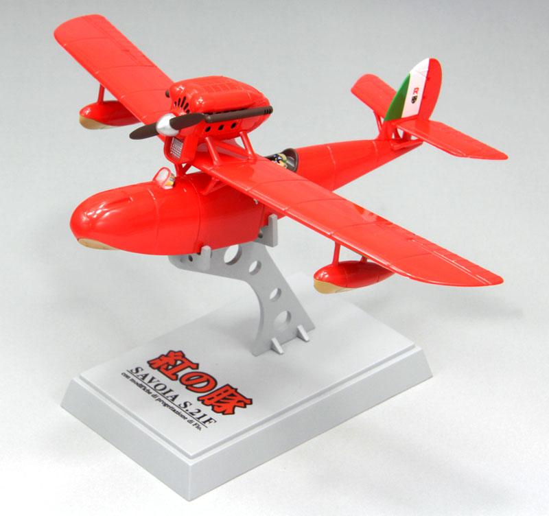 サボイア S.21F 後期型 (紅の豚)完成品(ファインモールド紅の豚 完成品モデルNo.62503)商品画像_2