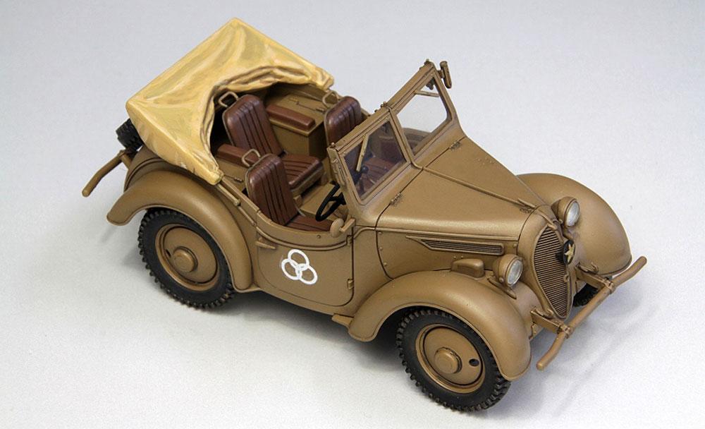帝国陸軍 九五式 小型乗用車 くろがね四起プラモデル(ファインモールド1/35 ミリタリーNo.FM050)商品画像_2