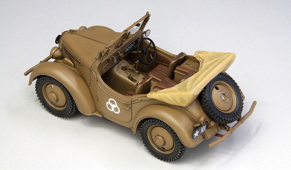 帝国陸軍 九五式 小型乗用車 くろがね四起プラモデル(ファインモールド1/35 ミリタリーNo.FM050)商品画像_3