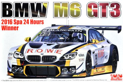 BMW M6 GT3 2016 スパ24時間レース ウイナープラモデル(プラッツプラスチックモデルキットNo.PN24001)商品画像