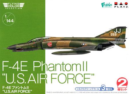 F-4E ファントム 2 U.S. AIR FORCEプラモデル(プラッツフライングカラー セレクションNo.FC-005)商品画像
