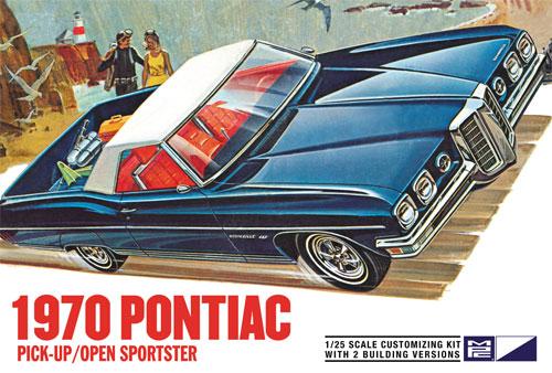 1970 ポンティアック ピックアップ / オープンスポーツスタープラモデル(MPC1/25 カーモデルNo.MPC840/12)商品画像