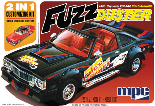 1980 プリムス ボラーレ ロードランナー (FUZZ DUSTER)プラモデル(MPC1/25 カーモデルNo.MPC843/12)商品画像