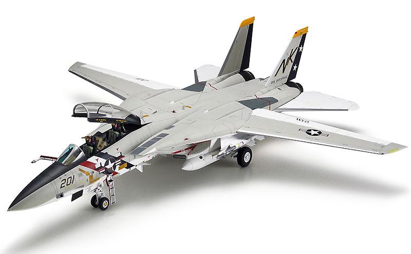 グラマン F-14A トムキャットプラモデル(タミヤ1/48 傑作機シリーズNo.114)商品画像_2