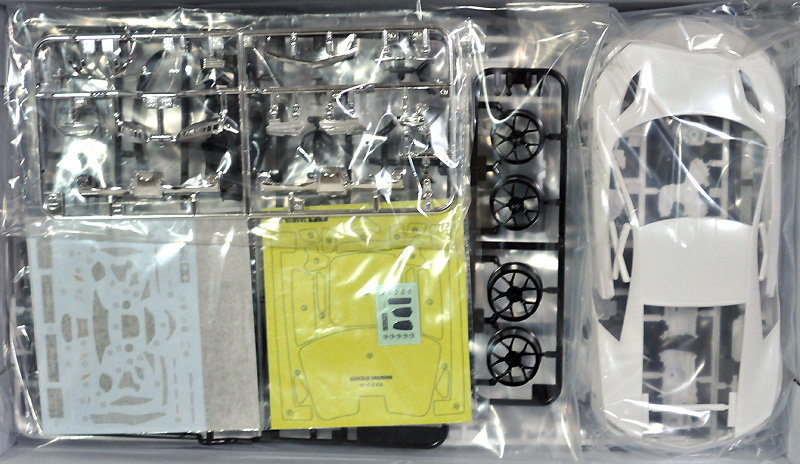 NSXプラモデル(タミヤ1/24 スポーツカーシリーズNo.344)商品画像_1