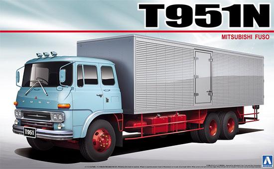 ふそう T951N アルミバンプラモデル(アオシマ1/32 ヘビーフレイト シリーズNo.001)商品画像
