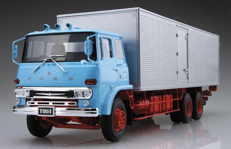 ふそう T951N アルミバンプラモデル(アオシマ1/32 ヘビーフレイト シリーズNo.001)商品画像_2