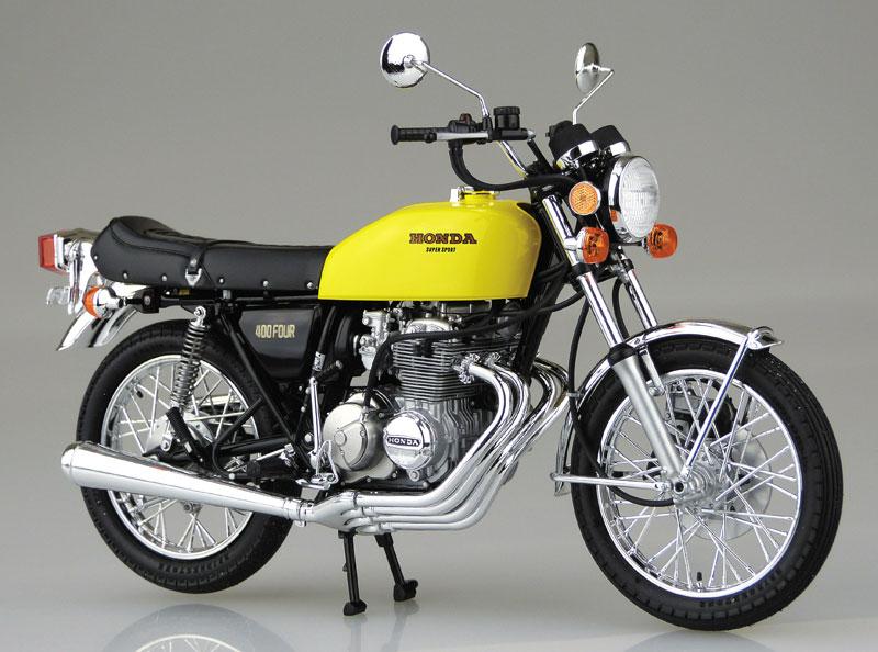 ホンダ CB400FOUR-1・2 1976 MODEL (398cc)プラモデル(アオシマ1/12 バイクNo.030)商品画像_2