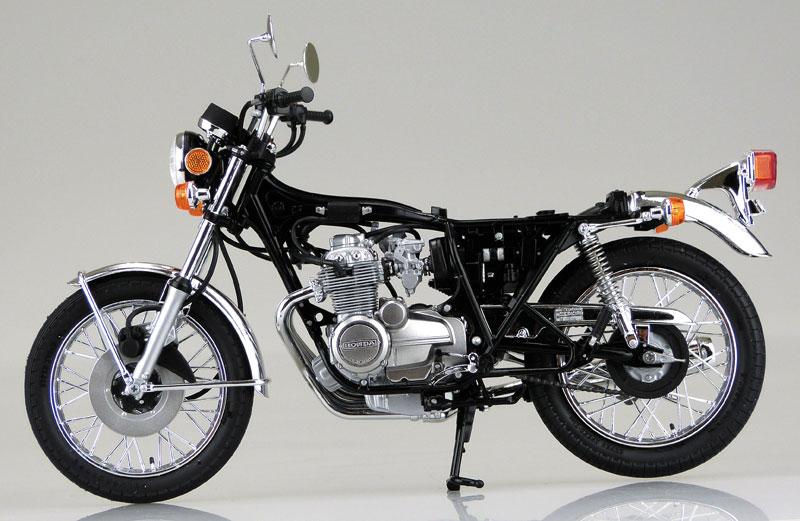 ホンダ CB400FOUR-1・2 1976 MODEL (398cc)プラモデル(アオシマ1/12 ネイキッドバイクNo.030)商品画像_3