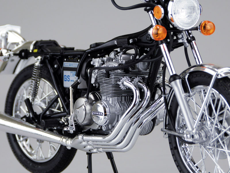 ホンダ CB400FOUR-1・2 1976 MODEL (398cc)プラモデル(アオシマ1/12 ネイキッドバイクNo.030)商品画像_4