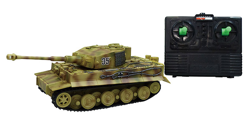 ドイツ 重戦車 タイガー 1 後期タイププラモデル(アオシマ1/48 リモコンAFVNo.016)商品画像_3