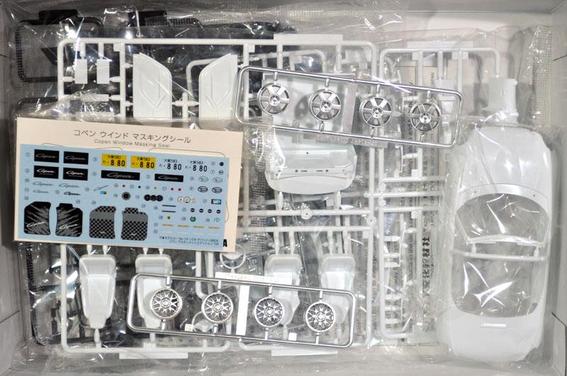 ダイハツ L880K コペン アルティメットエディション '06プラモデル(アオシマ1/24 ザ・モデルカーNo.旧019)商品画像_1