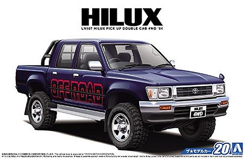 トヨタ LN107 ハイラックス ピックアップ ダブルキャブ 4WD
