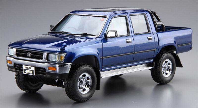 トヨタ LN107 ハイラックス ピックアップ ダブルキャブ 4WD '94プラモデル(アオシマ1/24 ザ・モデルカーNo.020)商品画像_2