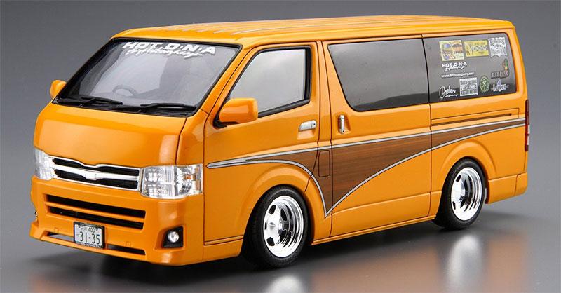 ホットカンパニー TRH200V ハイエース '12プラモデル(アオシマ1/24 ザ・チューンドカーNo.旧011)商品画像_2