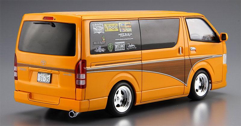 ホットカンパニー TRH200V ハイエース '12プラモデル(アオシマ1/24 ザ・チューンドカーNo.旧011)商品画像_3