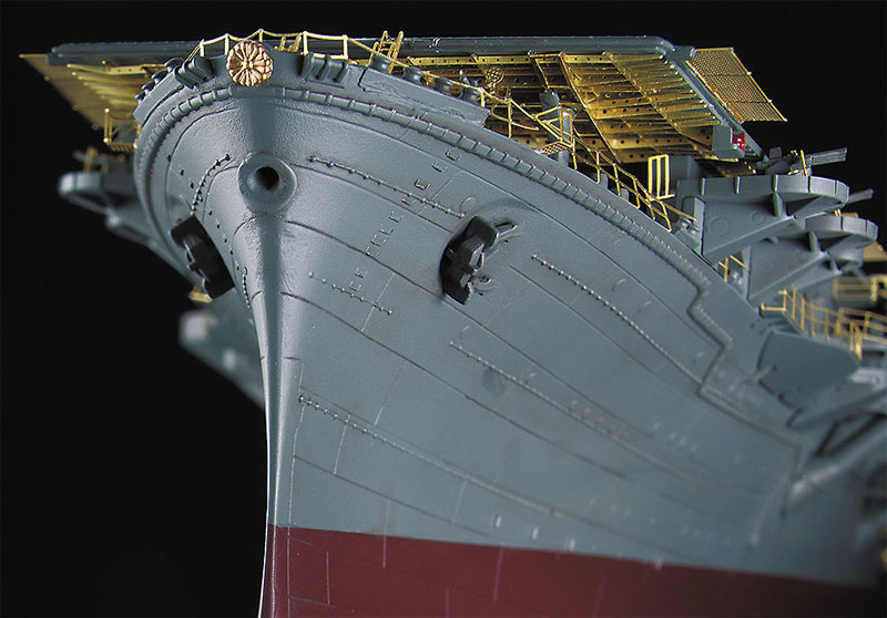 航空母艦 隼鷹 ディテールアップ エッチングパーツ スーパーエッチング(ハセガワ1/350 QG帯シリーズNo.QG065)商品画像_3