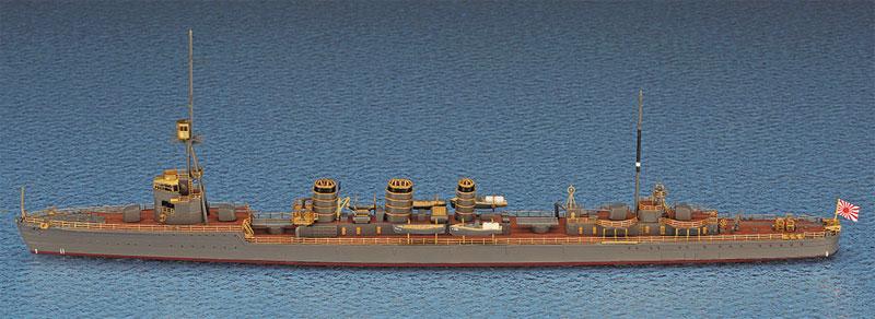 日本海軍 軽巡洋艦 龍田 スーパーディテールプラモデル(ハセガワ1/700 ウォーターラインシリーズ スーパーディテールNo.30039)商品画像_2