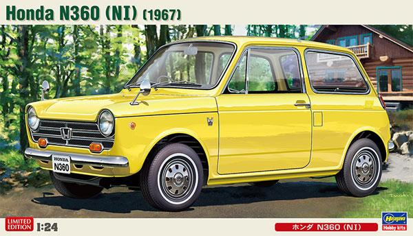 ホンダ N360 (N1)プラモデル(ハセガワ1/24 自動車 限定生産No.20285)商品画像
