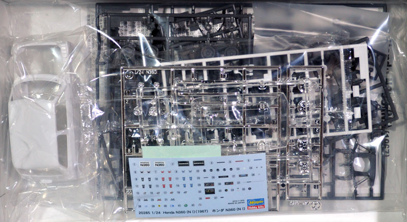ホンダ N360 (N1)プラモデル(ハセガワ1/24 自動車 限定生産No.20285)商品画像_1
