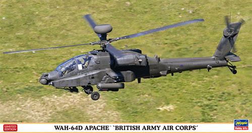 WAH-64D アパッチ イギリス陸軍航空隊プラモデル(ハセガワ1/48 飛行機 限定生産No.07445)商品画像
