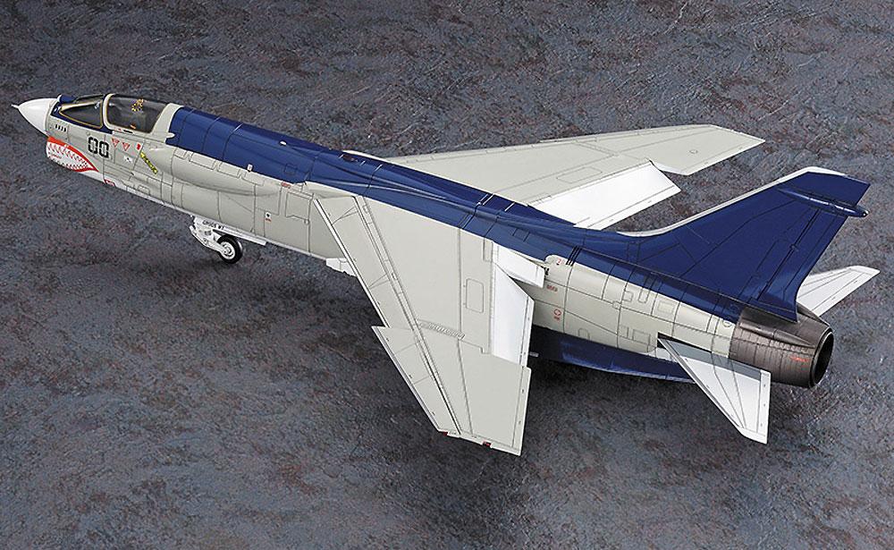F-8E クルーセイダー 風間 真 (エリア88)プラモデル(ハセガワクリエイター ワークス シリーズNo.64739)商品画像_4