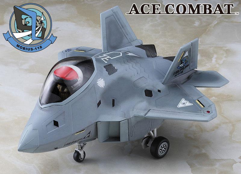 F-22 ラプター エースコンバット メビウス 1プラモデル(ハセガワたまごひこーき シリーズNo.SP350)商品画像_2