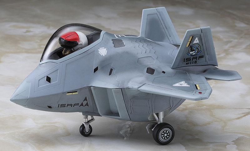 F-22 ラプター エースコンバット メビウス 1プラモデル(ハセガワたまごひこーき シリーズNo.SP350)商品画像_3