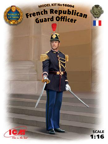 フランス共和国 親衛隊プラモデル(ICM1/16 ワールドガードNo.16004)商品画像