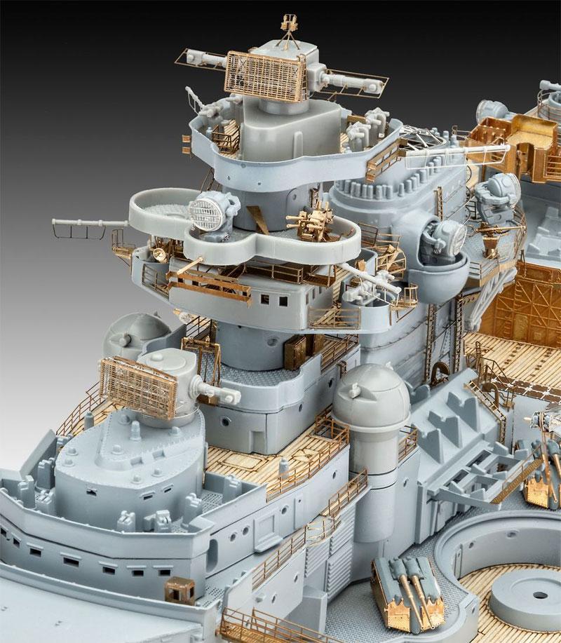ドイツ戦艦 ビスマルク (プレミアムエディション)プラモデル(レベル1/350 艦船モデルNo.05144)商品画像_3