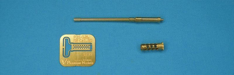 ブローニング M2 重機関銃 銃身セットメタル(パッションモデルズ1/35 シリーズNo.P35-126)商品画像_1