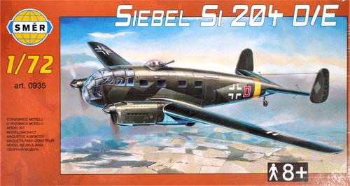 ジーベル Si204D/Eプラモデル(スメール1/72 エアクラフト プラモデルNo.0935)商品画像