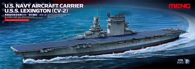 アメリカ海軍 航空母艦 レキシントン (CV-2)プラモデル(MENG-MODEL1/700 艦船No.PS-002)商品画像