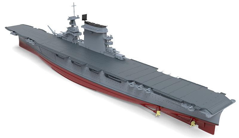 アメリカ海軍 航空母艦 レキシントン (CV-2)プラモデル(MENG-MODEL1/700 艦船No.PS-002)商品画像_3