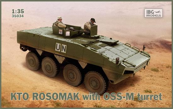KTO ロソマク 装輪装甲車 w/OSS-M ターレットプラモデル(IBG1/35 AFVモデルNo.35034)商品画像