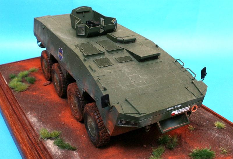 KTO ロソマク 装輪装甲車 w/OSS-M ターレットプラモデル(IBG1/35 AFVモデルNo.35034)商品画像_2