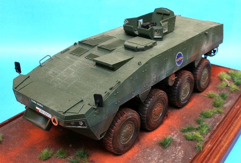KTO ロソマク 装輪装甲車 w/OSS-M ターレットプラモデル(IBG1/35 AFVモデルNo.35034)商品画像_3