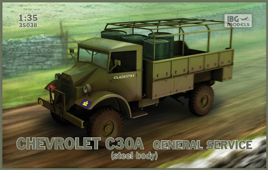 シボレー C30A カーゴトラック 鋼製荷台プラモデル(IBG1/35 AFVモデルNo.35038)商品画像