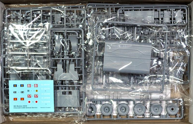 シボレー C30A カーゴトラック 鋼製荷台プラモデル(IBG1/35 AFVモデルNo.35038)商品画像_1