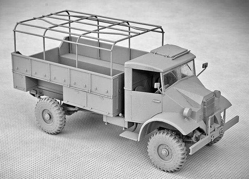 シボレー C30A カーゴトラック 鋼製荷台プラモデル(IBG1/35 AFVモデルNo.35038)商品画像_2