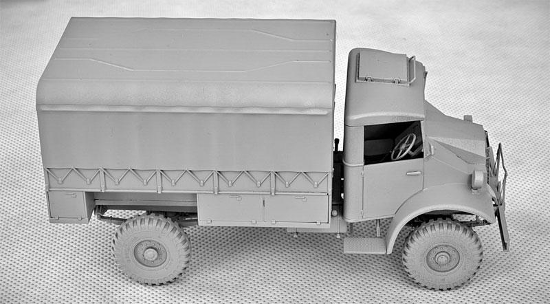 シボレー C30A カーゴトラック 鋼製荷台プラモデル(IBG1/35 AFVモデルNo.35038)商品画像_3