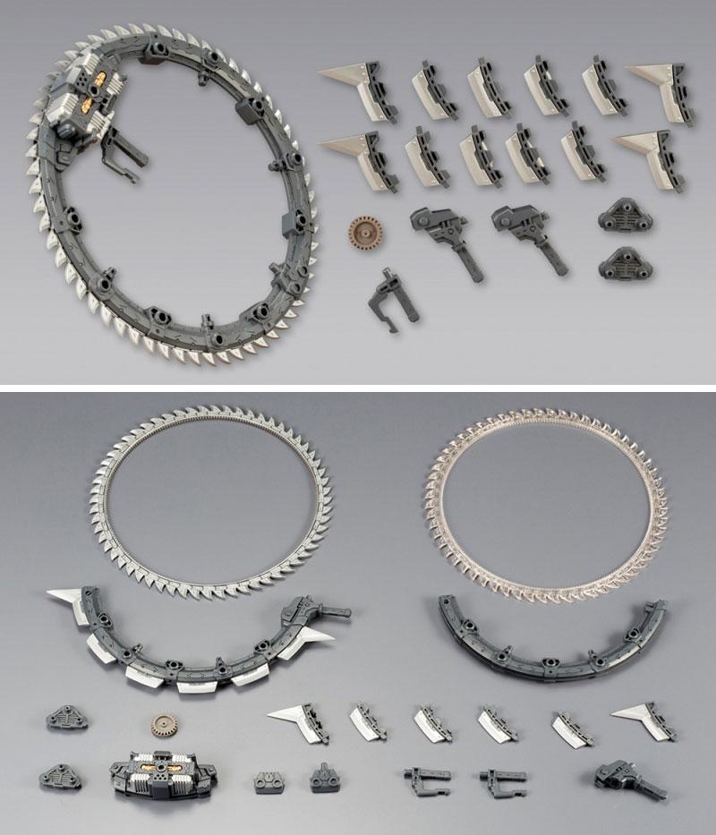 グラインドサークルプラモデル(コトブキヤヘヴィウェポンユニットNo.MH013)商品画像_1