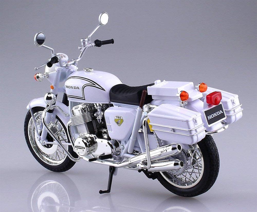 ホンダ CB750FOUR 白バイ完成品(アオシマ1/12 完成品バイクシリーズNo.104651)商品画像_2