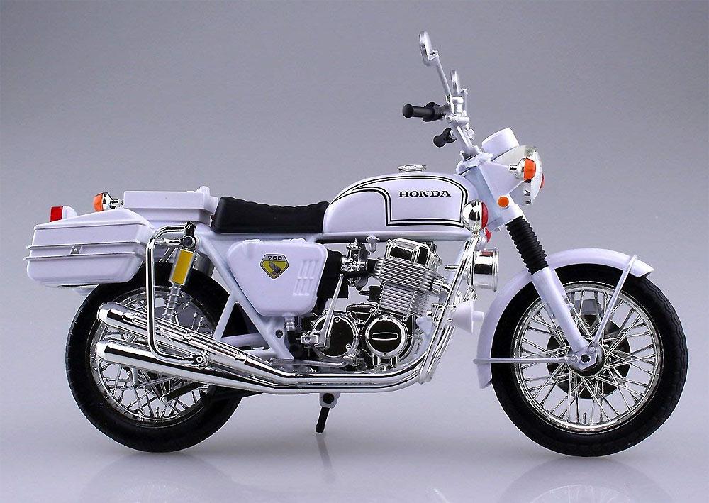 ホンダ CB750FOUR 白バイ完成品(アオシマ1/12 完成品バイクシリーズNo.104651)商品画像_3