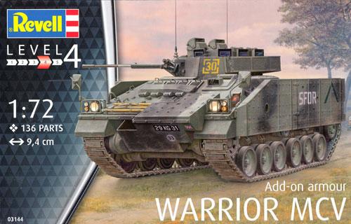 ウォーリア MCV 増加装甲プラモデル(レベル1/72 ミリタリーNo.03144)商品画像