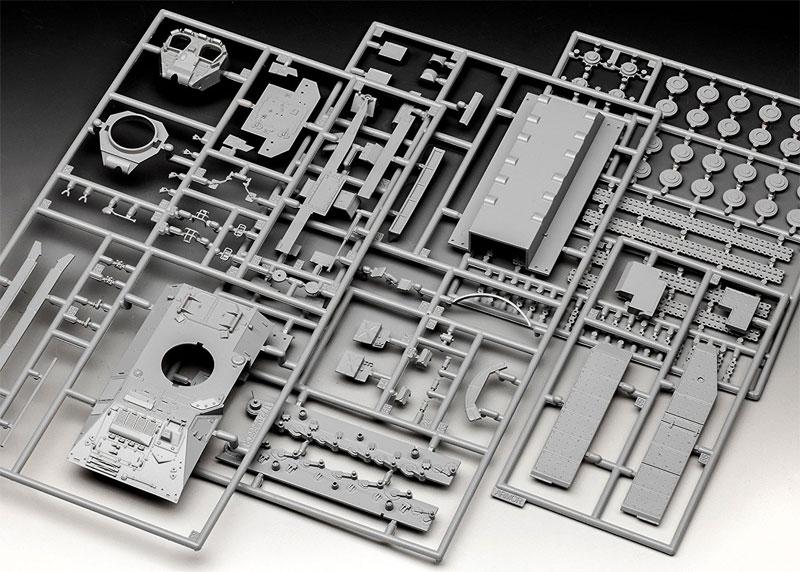 ウォーリア MCV 増加装甲プラモデル(レベル1/72 ミリタリーNo.03144)商品画像_1