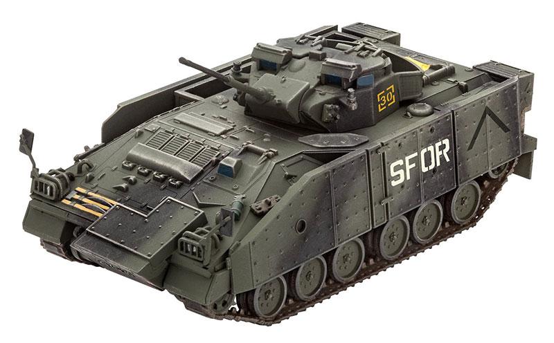 ウォーリア MCV 増加装甲プラモデル(レベル1/72 ミリタリーNo.03144)商品画像_2